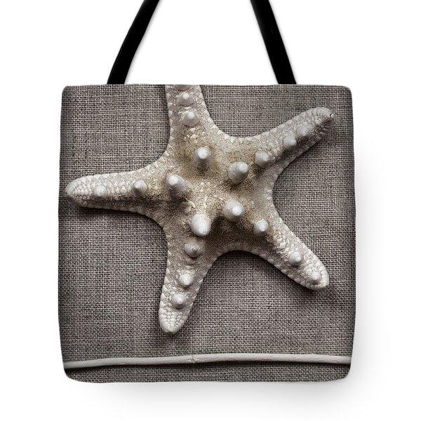 Starfish And Sticks Tote Bag