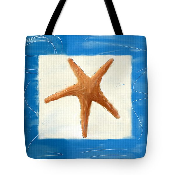 Starfish Galore Tote Bag by Lourry Legarde