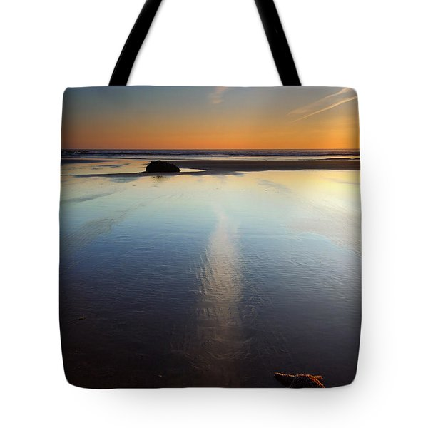 Starfish Sunset Tote Bag