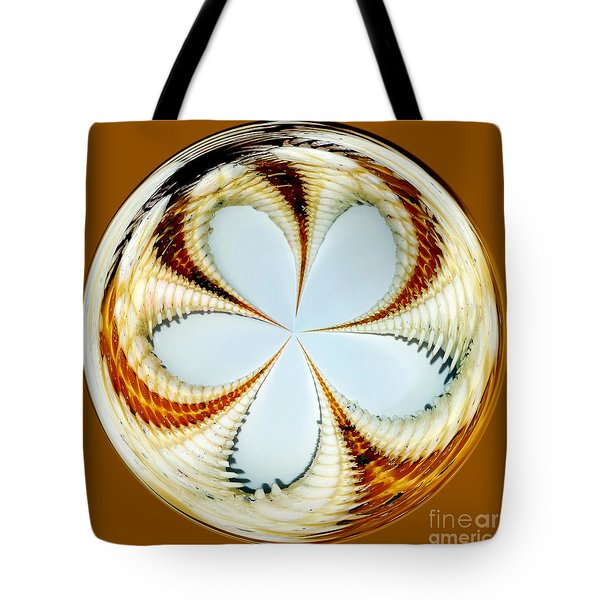 Starfish To Flower - Orb Tote Bag by Kaye Menner