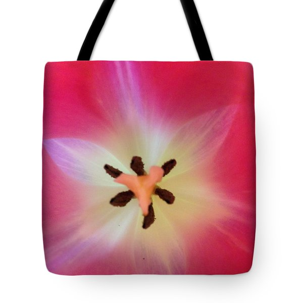 Starfish Tulip Tote Bag