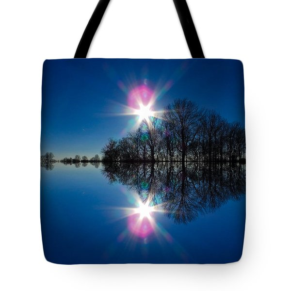 Starflection Tote Bag by Nick Kirby