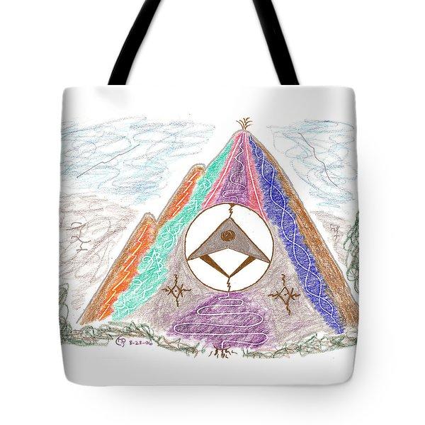 Stargate Tote Bag