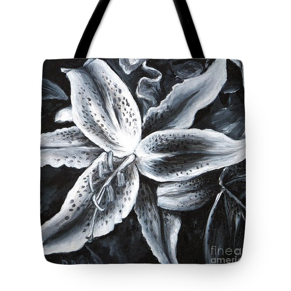 Stargazer Lilly Tote Bag