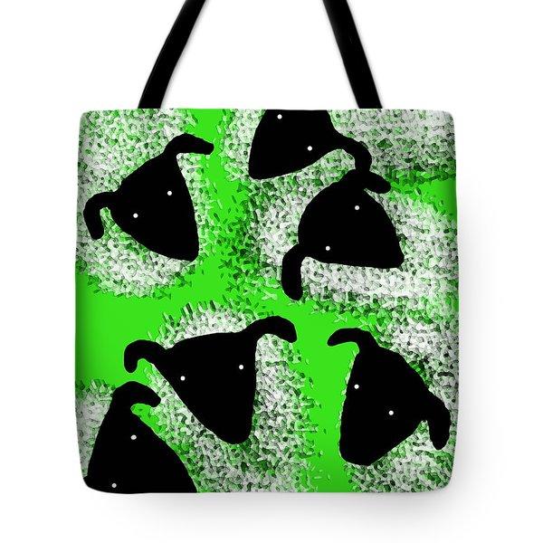 Stargazing Sheep Tote Bag