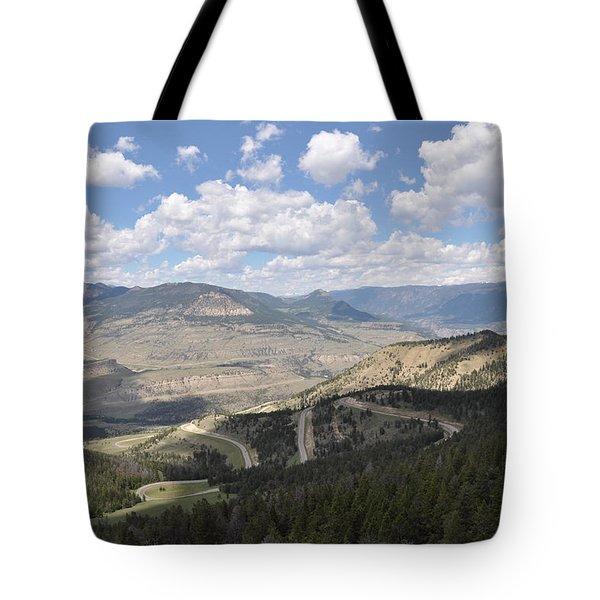 Starlight Basin Tote Bag