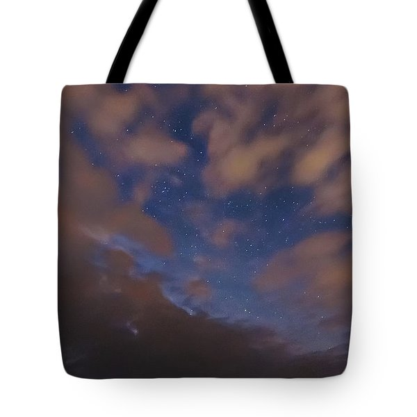 Tote Bag featuring the photograph Starlight Skyscape by Marty Saccone