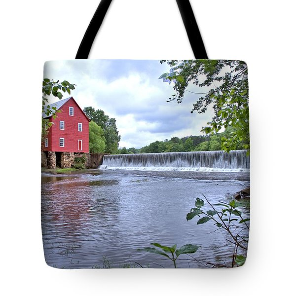 Starrs Mill Tote Bag by Gordon Elwell