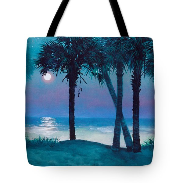 Starry Night Tote Bag by Blue Sky