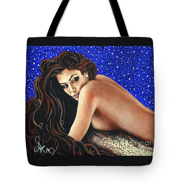 Starry Night  Tote Bag by Jackie Carpenter