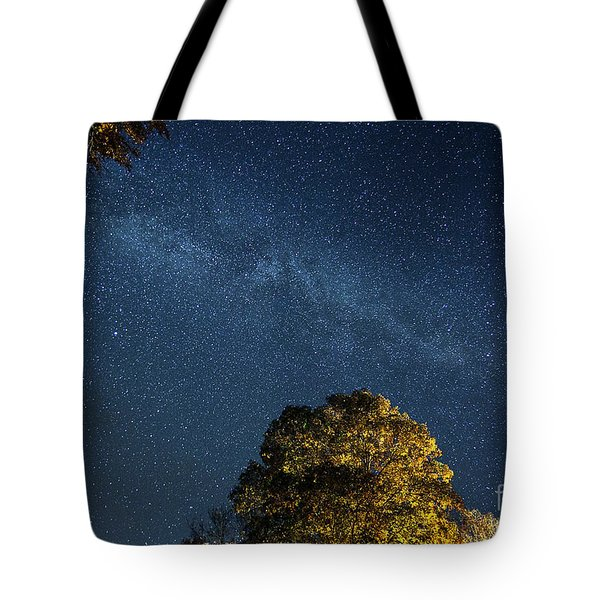 Tote Bag featuring the photograph Starry Skies by Martin Konopacki