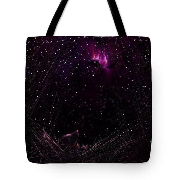 Starry Starry Night Tote Bag by Rachel Christine Nowicki