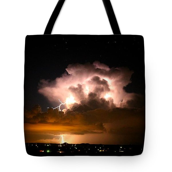 Starry Thundercloud Tote Bag