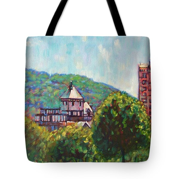 Stars Above Tote Bag by Bonnie Mason