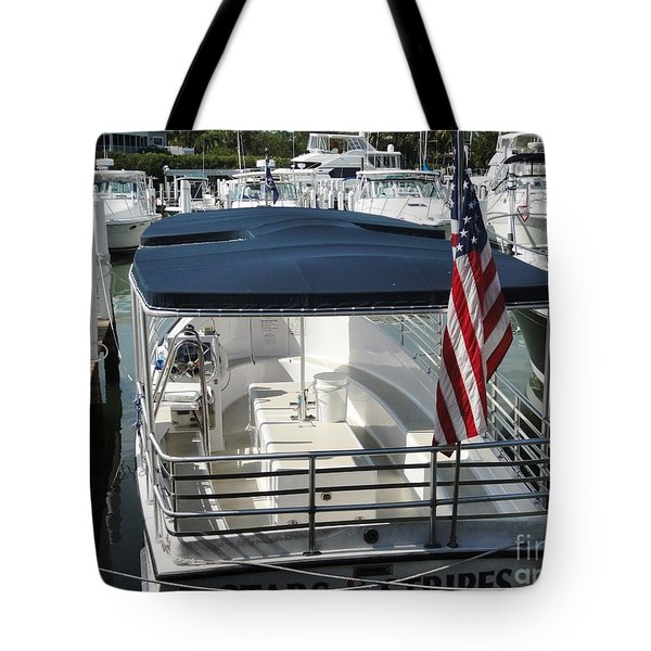 Tote Bag featuring the photograph Stars And Stripes by Janette Boyd