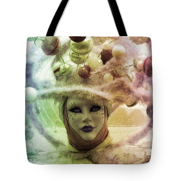 Stars Around Me Tote Bag by Barbara Orenya