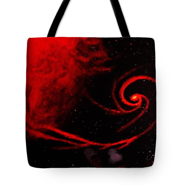 Stars Locked In Immortal Embrace Tote Bag