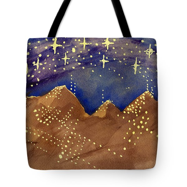 Stars Of Heaven And Earth Tote Bag