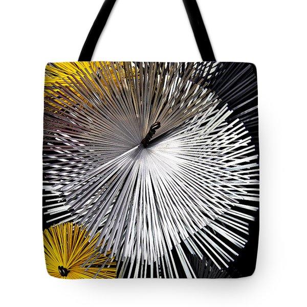 Tote Bag featuring the photograph Stars Of Smoke by Raffaella Lunelli