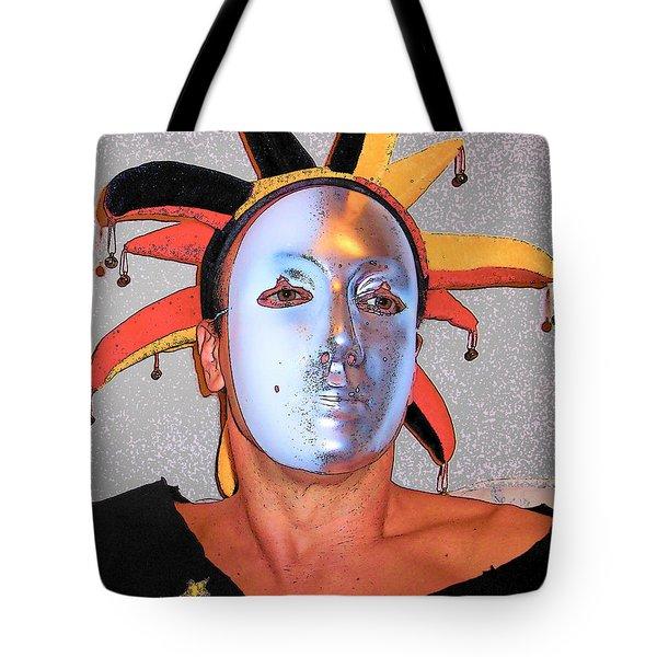 Stars Over Moon Tote Bag
