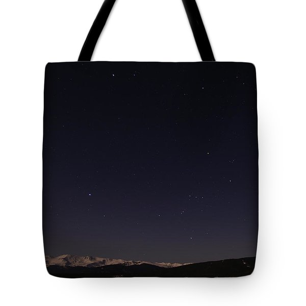 Stars Over Sawatch Tote Bag