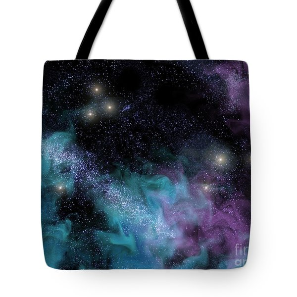 Starscape Nebula Tote Bag