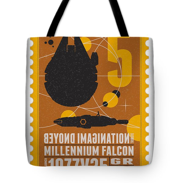 Starschips 05-poststamp -star Wars Tote Bag
