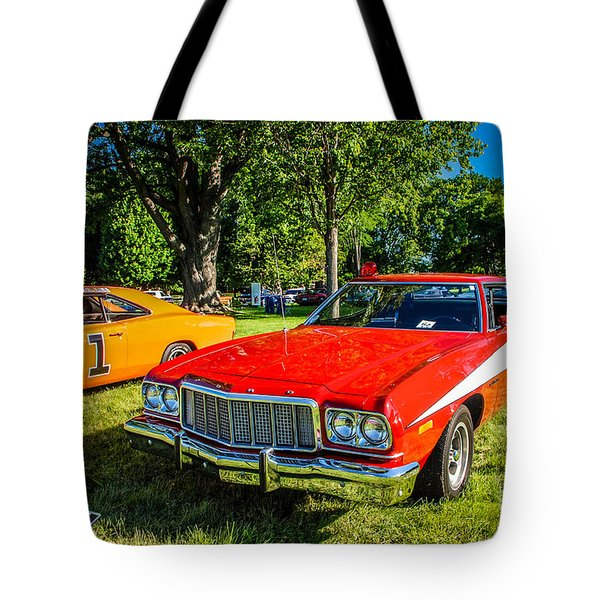 Starsky And Hutch Ford Gran Torino Tote Bag