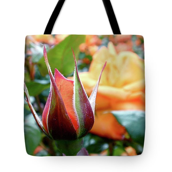 Tote Bag featuring the photograph Starting Out by Rona Black