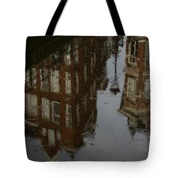 Tote Bag featuring the photograph Starting To Rain... by Georgia Mizuleva
