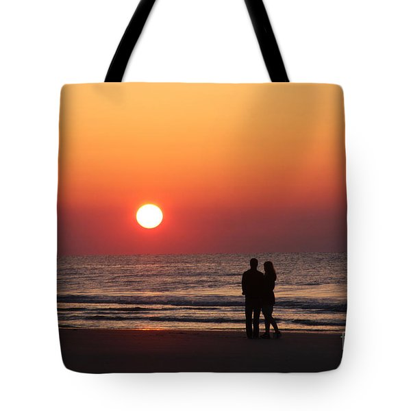 Starting Your Day Off Right With The One You Love Tote Bag
