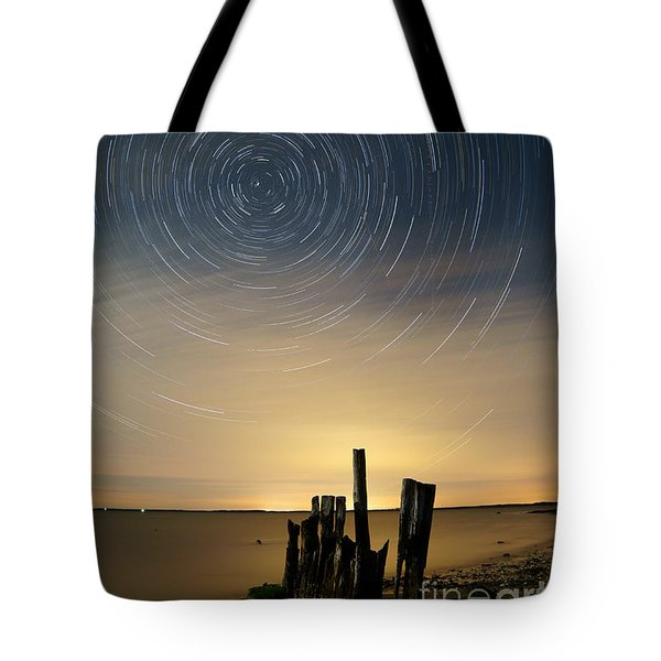 Startrails 2 Tote Bag by Benjamin Reed
