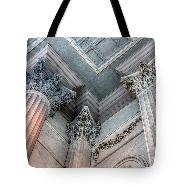 State House Exterior Columns Tote Bag