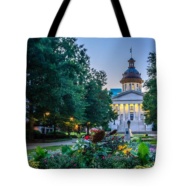 State House Garden Tote Bag
