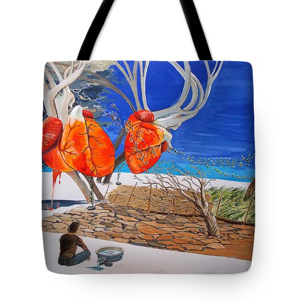 State Of Emotion The Pulse Let It Work... Tote Bag