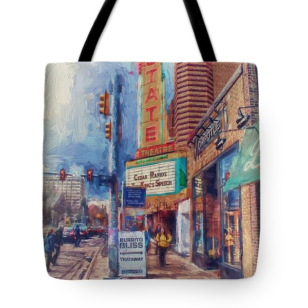 State Street Impasto Tote Bag
