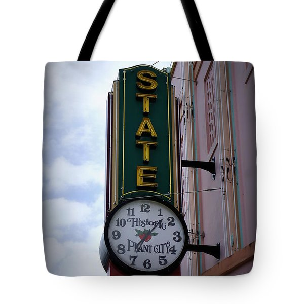 State Theatre Sign Tote Bag