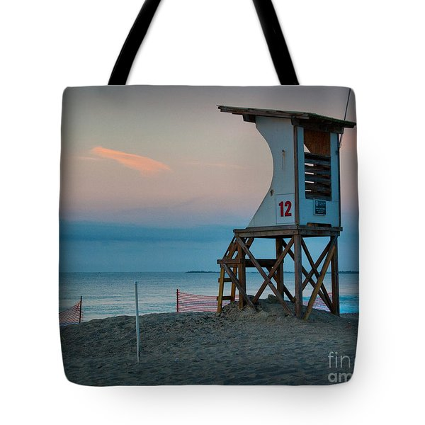 Tote Bag featuring the photograph Station 12 At Sunrise by Phil Mancuso