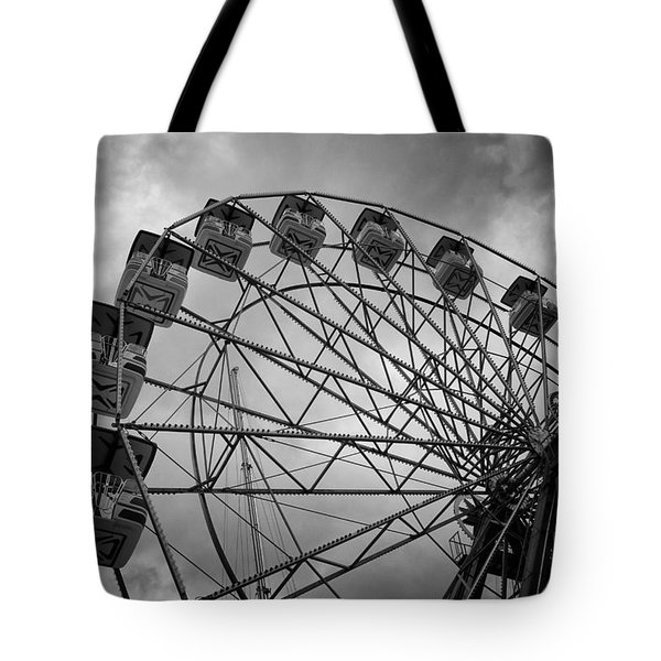 Stationary In The Morning Tote Bag
