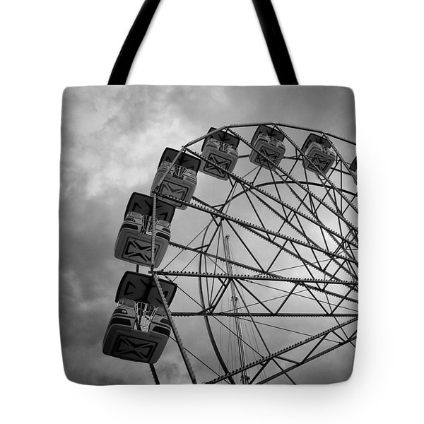 Tote Bag featuring the photograph Stationary In The Morning by Ben Shields