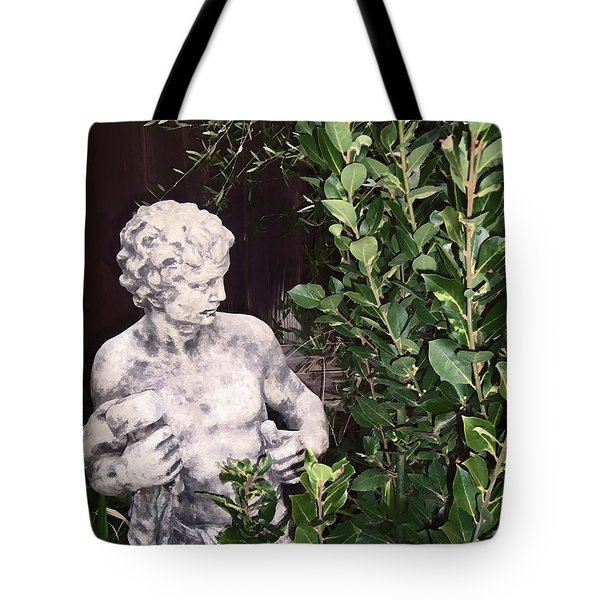 Tote Bag featuring the photograph Statue 1 by Pamela Cooper