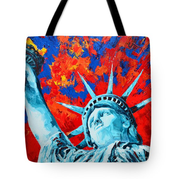 Statue Of Liberty - Lady Liberty Tote Bag