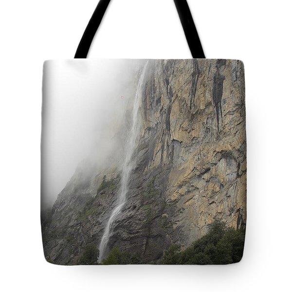 Staubbach Falls Tote Bag