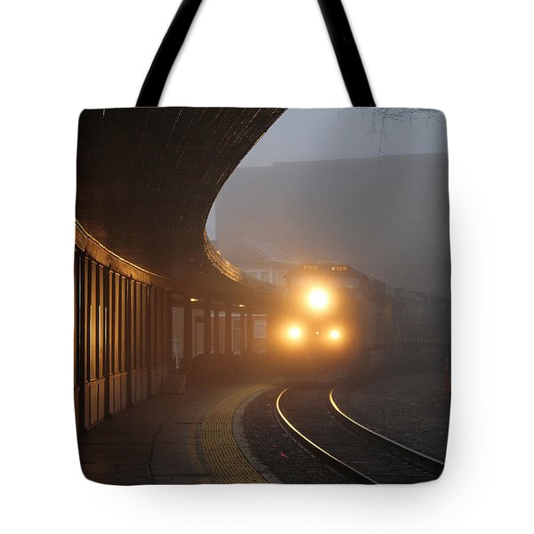 Staunton Virgina Train Tote Bag