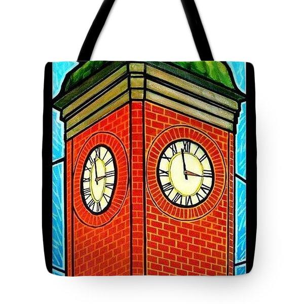 Staunton Virginia Clock Tower Tote Bag by Jim Harris