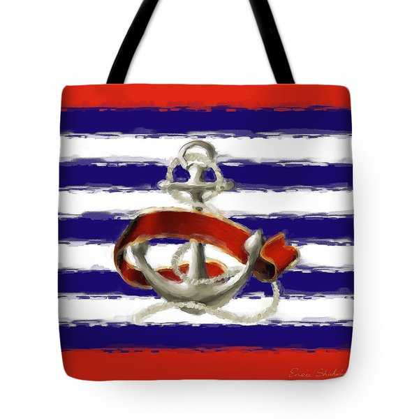 Stay Anchored Tote Bag