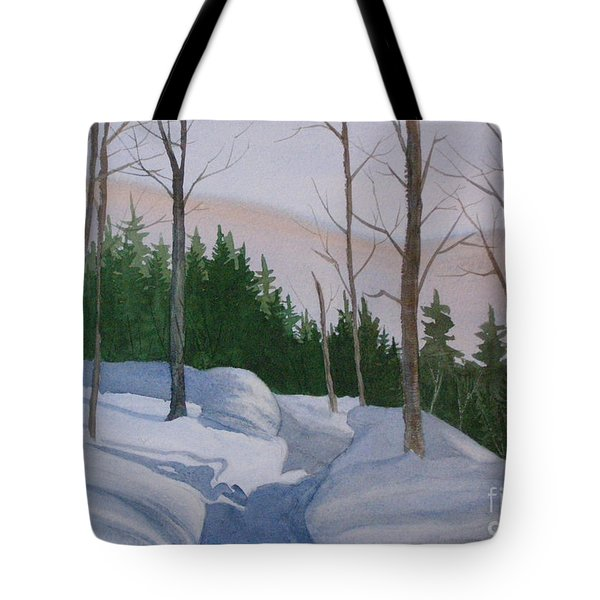 Stay On The Path Tote Bag
