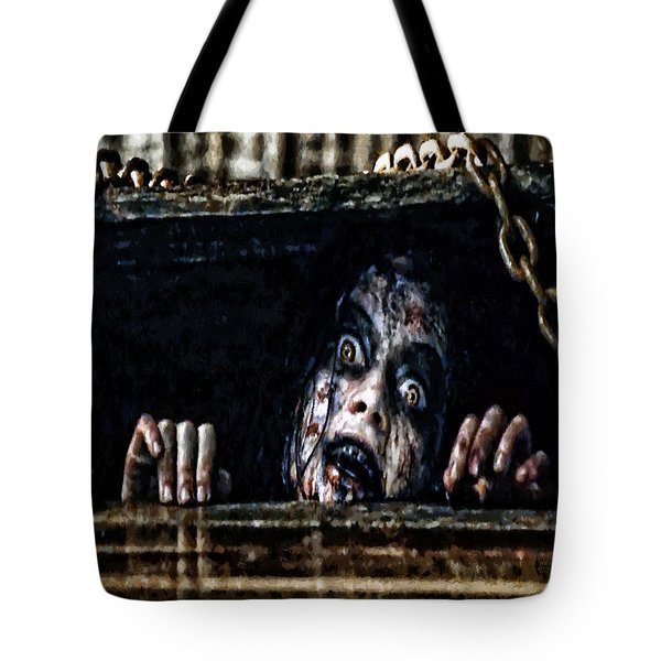 Stay Out Of The Basement Tote Bag
