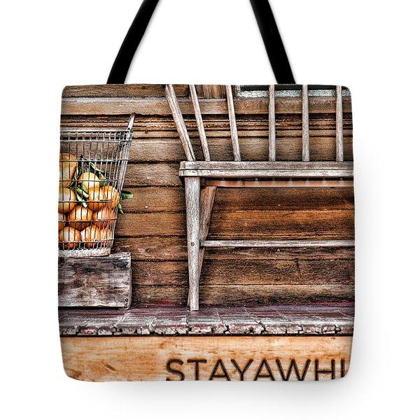 Stayawhile Tote Bag