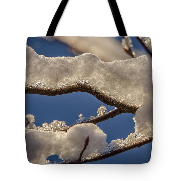 Staying Warm Tote Bag